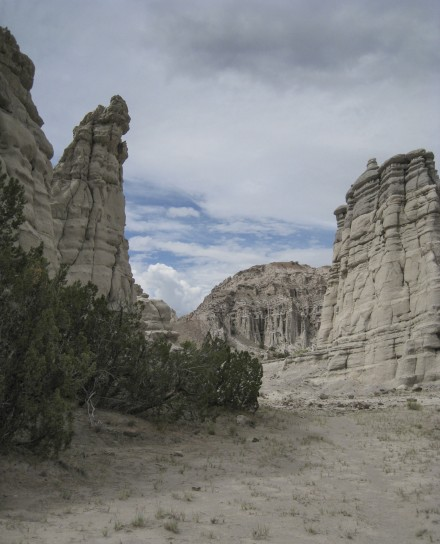 The view inside a canyon of hoodoos in northern New Mexico. ©Joshua Brockman 2012. All Rights Reserved.