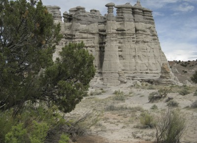 Hoodoos stand tall against the northern New Mexican sky. ©Joshua Brockman 2012. All Rights Reserved.