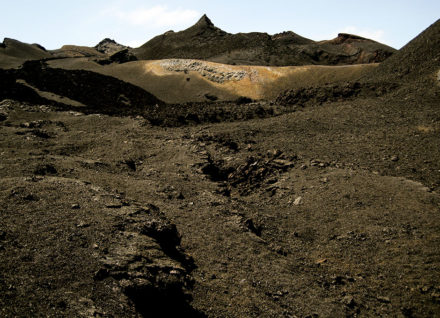 The volcanic peaks of Sierra Negra formed an alien landscape on Isabela Island. ©Joshua Brockman 2007. All Rights Reserved.